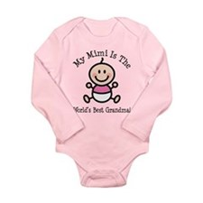 Best Mimi Baby Girl Stick Figure Long Sleeve Infan