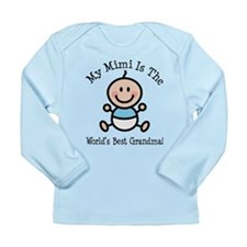 Best Mimi Baby Boy Stick Figure Long Sleeve Infant
