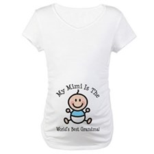 Best Mimi Baby Boy Stick Figure Shirt