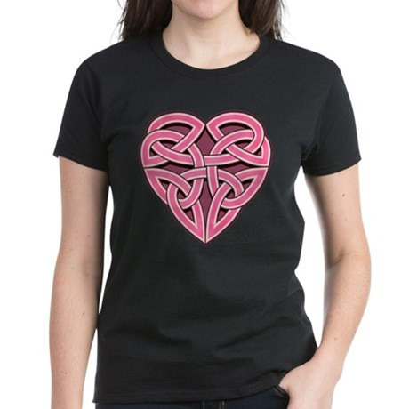 Bijii Heartknot Women's Dark T-Shirt