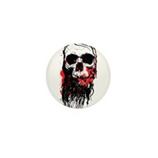 Blood Skull Mini Button