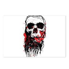 Blood Skull Postcards (Package of 8)