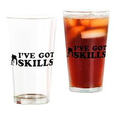 I've got Curling skills Drinking Glass