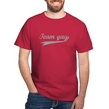 Team Gay Grey T-Shirt