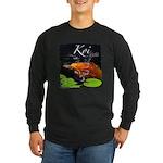 Orange Koi Long Sleeve Dark T-Shirt