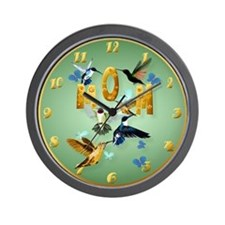 MOM-For the birds-Trans Wall Clock
