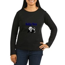 Baby Boy with Panda Long Sleeve T-Shirt