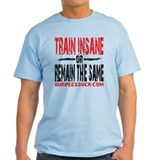TRAIN INSANE - WHITE T-Shirt