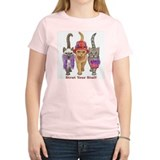 Strut Your Stuff Women's Pink T-Shirt
