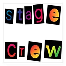 "stage.psd Square Car Magnet 3"" x 3"""