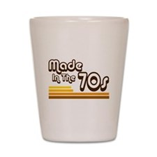 'Made in the 70s' Shot Glass