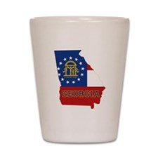Georgia Flag Shot Glass