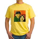 Husky Yellow T-Shirt
