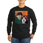 Husky Long Sleeve Dark T-Shirt