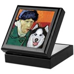 Husky Keepsake Box