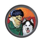 Husky Wall Clock