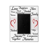 The Meaning of Marriage Picture Frame