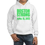 Boston Strong - Green Hoodie
