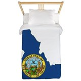Idaho Flag Twin Duvet
