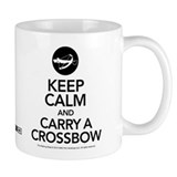 Keep Calm Carry a Crossbow Mug
