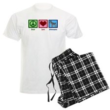 Peace Love Schnauzers Pajamas