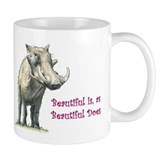 Beautiful the Warthog Mug