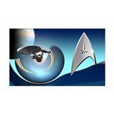 Star Trek Reboot Wall Decal