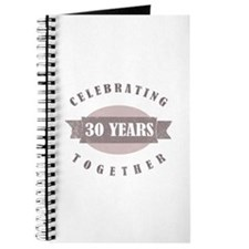 Vintage 30th Anniversary Journal