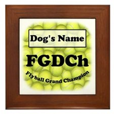 FGDCh Flyball Grand Champion Framed Tile