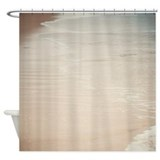 Where Land Meets Sea - Shower Curtain