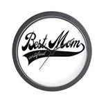 Best Mom Certified - Mothers day Wall Clock