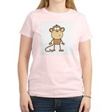 The Monkey Women's Pink T-Shirt