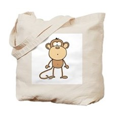 Oooh Monkey Tote Bag