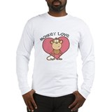 Monkey Love Long Sleeve T-Shirt