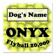 "Flyball ONYX Square Magnet 3"" x 3"""