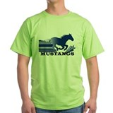 Mustangs Ash Grey T-Shirt