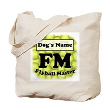 FM, Flyball Master Tote Bag