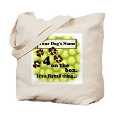 Four On The Box, Ideal Box Turn Tote Bag