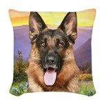 meadow.png Woven Throw Pillow