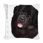 portrait14.png Woven Throw Pillow