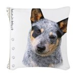 portrait9.png Woven Throw Pillow