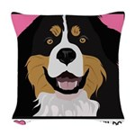 vector.jpg Woven Throw Pillow