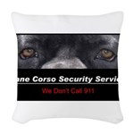 security.png Woven Throw Pillow