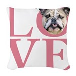 love.png Woven Throw Pillow