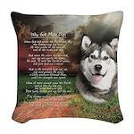 godmadedogs.png Woven Throw Pillow