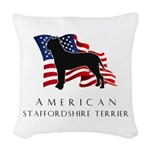 flag.png Woven Throw Pillow