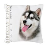 portrait.png Woven Throw Pillow