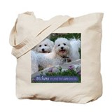 Bichons are... Tote Bag