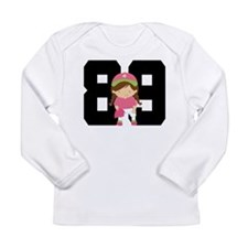 Softball Player Uniform Number 89 Long Sleeve Infa