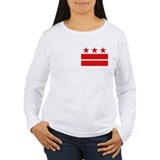 Three Stars and Two Bars Women's Long Sleeve Tee